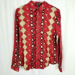 Lauren Ralph Lauren Southwestern Aztec Shirt